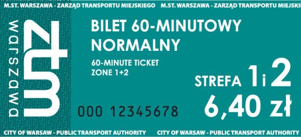 Wzory nowych biletów ZTM