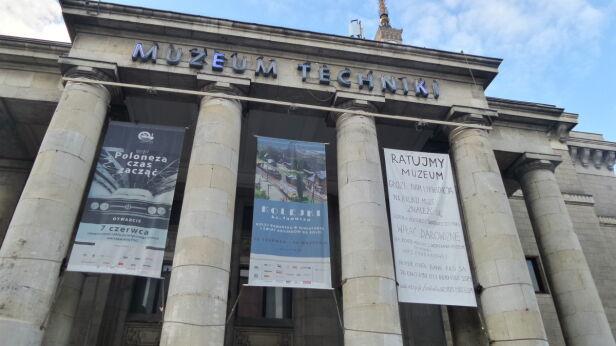 Muzeum Techniki  Artur Węgrzynowicz / tvnwarszawa.pl