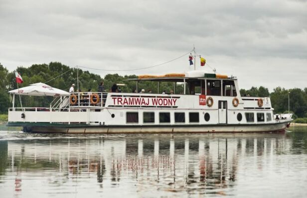 Warszawski tramwaj wodny ZTM