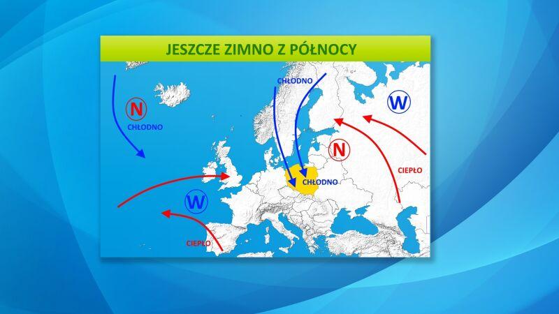 Prognoza pogody dla Europy