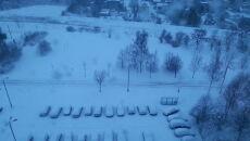 Zima w Piekarach Śląskich