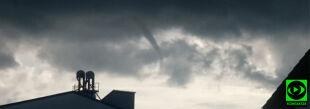 Lej kondensacyjny straszył w okolicach Raciborza