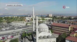 Wstrząsy uszkodziły minarety w Stambule